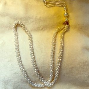 """24"""" Costume Pearl Necklace"""